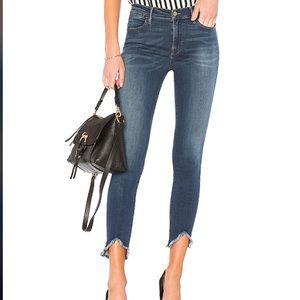 FRAME Skinny black jeans